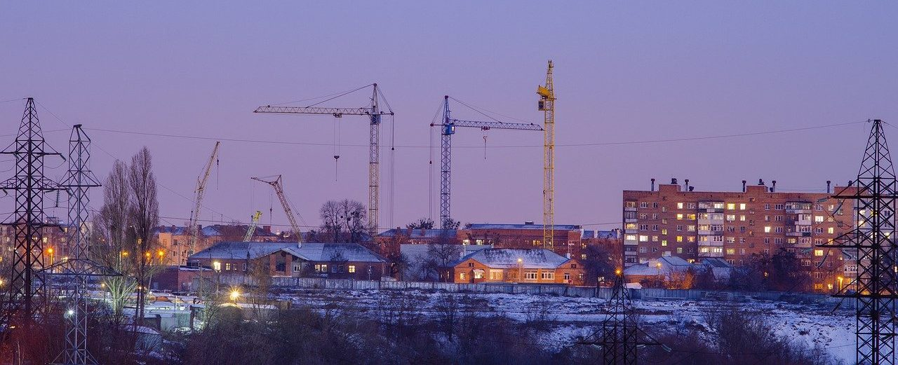 crane, tower, at home